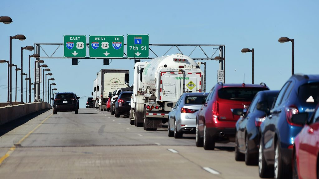 Yes, US 52 north over the Lafayette Bridge is always a mess.  MnDOT has a plan.