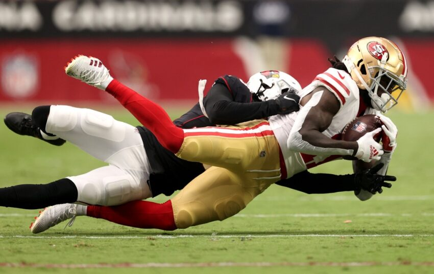 49ers GM: 'It's time' for Brandon Aiyuk to snap out of sophomore slump