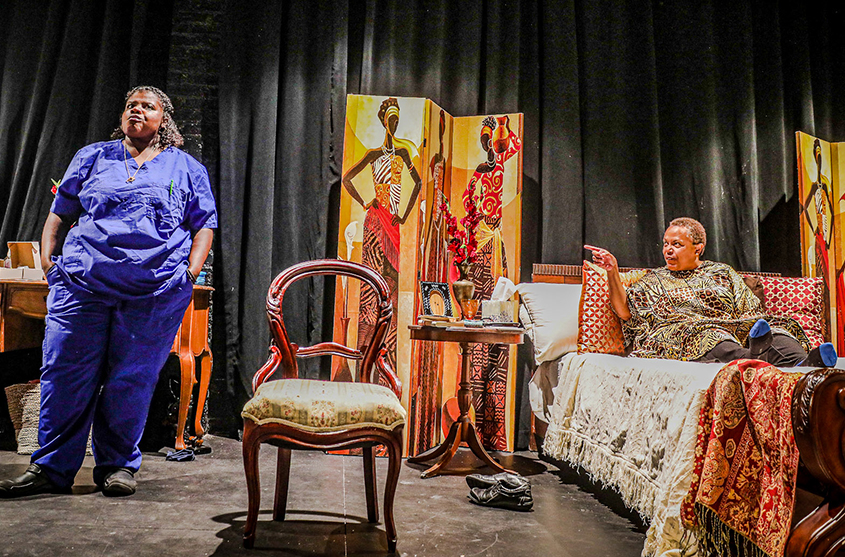 Black Theatre Troupe staging 'Dead and Breathing' at theRep