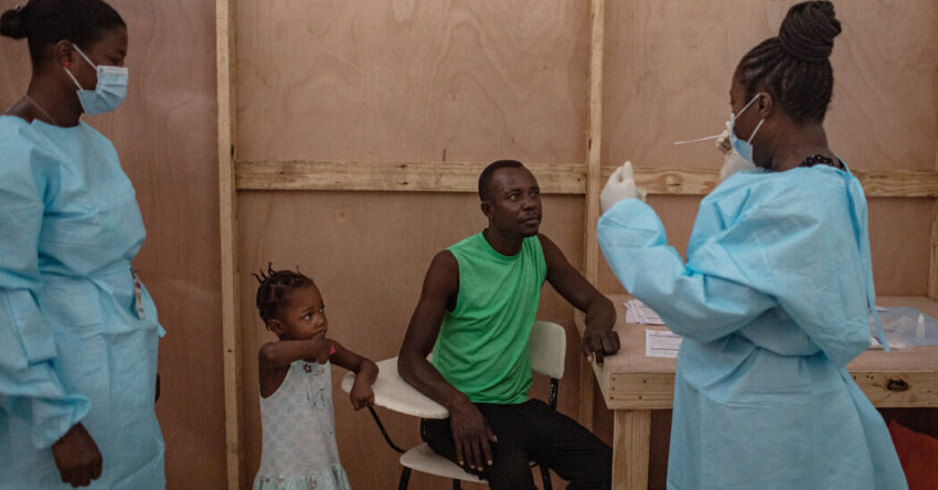 Caribbean countries are grappling with vaccination efforts.
