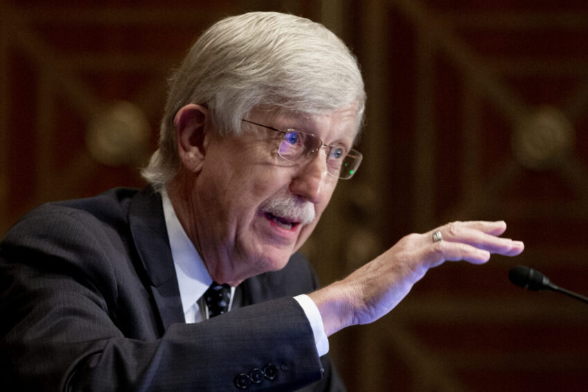 Dr. Franc Collins is stepping down as head of the NIH