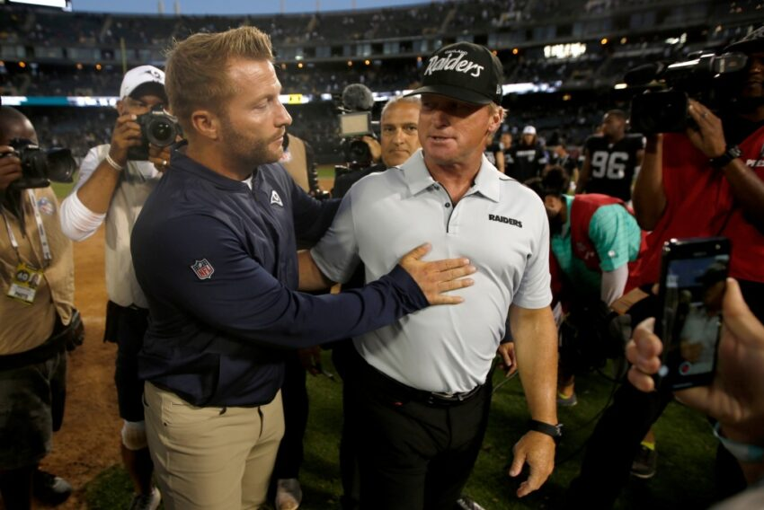 Rams' Sean McVay says he is 'surprised' by John Gruden's email