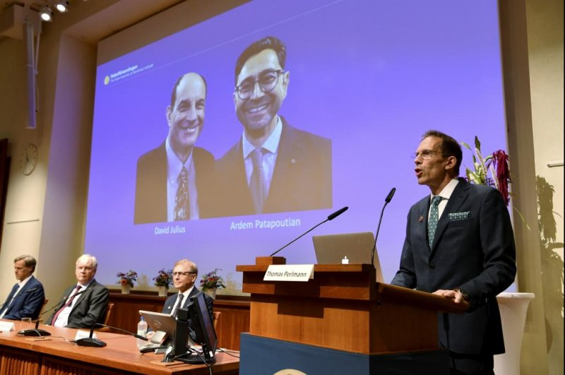 US scientists win Nobel Prize in Physiology or Medicine for heat receptors