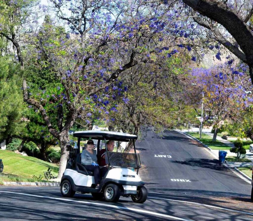 What's required to make a golf cart street legal and then get it registered with DMV?