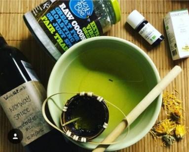 Herbal bath Calendula Thyme
