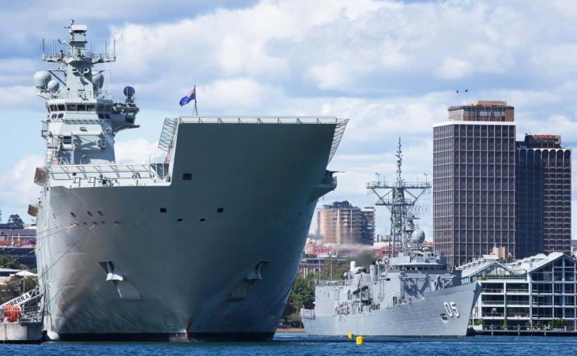 Australian Navy denies reports of improper maintenance for HMAS Canberra ve HMAS Adelaide break-downs…