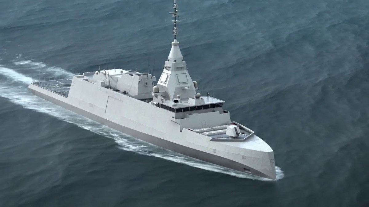 Naval Group signed the contract for Belharra-Class frigate