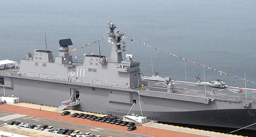 South Korea has announced the construction of a second DOKDO Class LHD