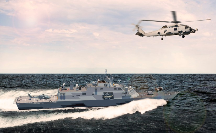 Lockheed Martin Awarded $22.74 million Pentagon contract to modify the LCS Design for Saudi Arabia Frigate Project