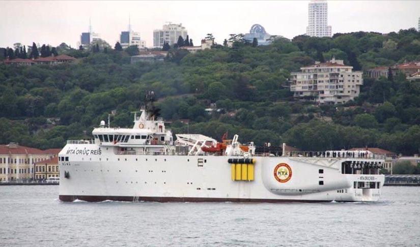 Turkey set sail for energy in the EEZ (exclusive economic zone)