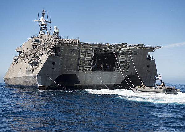 USS Coronado predeployment assessment and evaluation