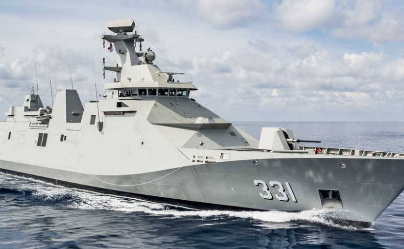 Indonesian Navy gets the 2nd Sigma 10514 Class Frigate