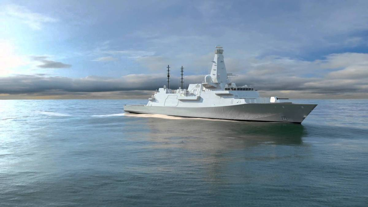 Type 26 Frigate Design for Canada CSC (video)