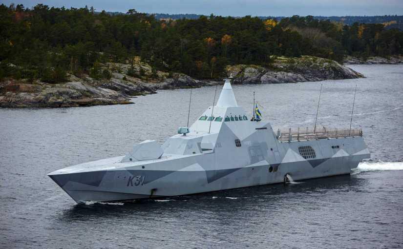 Saab Provides Tactical Data Links to Swedish Navy