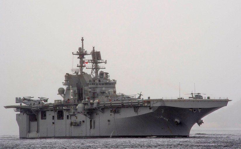 BAE Systems awarded $54 Million contract to Modernize USS America and USS Cape St. George