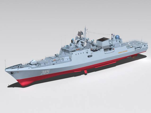 Admiral Grigorovich 02 model