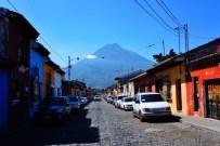Views of Agua Volcano