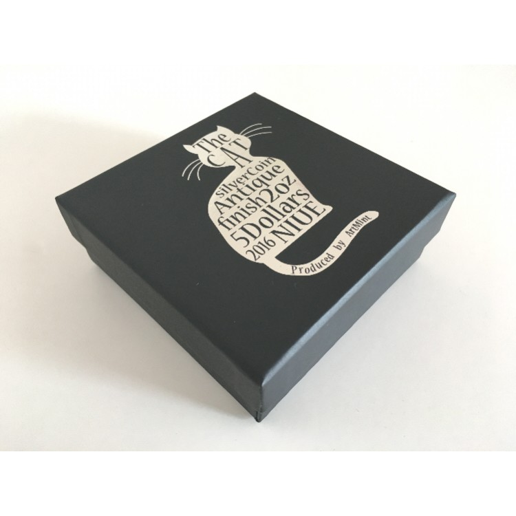 2016 Cat Eye Coin From Animal Series Box
