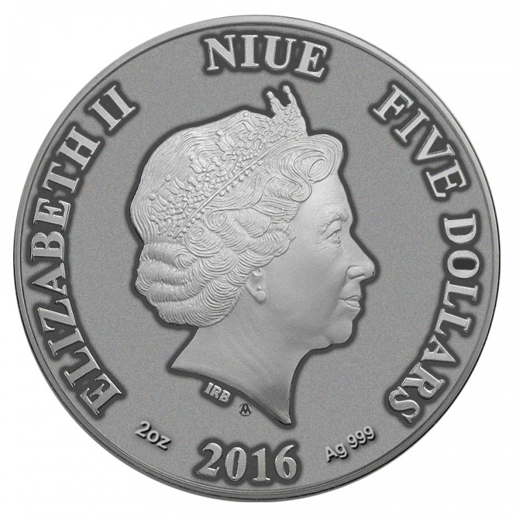 2016 Cat Eye Coin From Animal Series Obverse