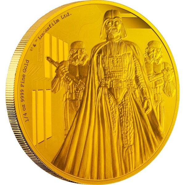 Darth Vader 1/4oz (Gold)