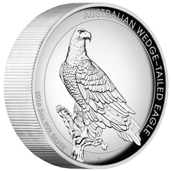 2016 Wedge-tailed Eagle – 5oz (Silver)