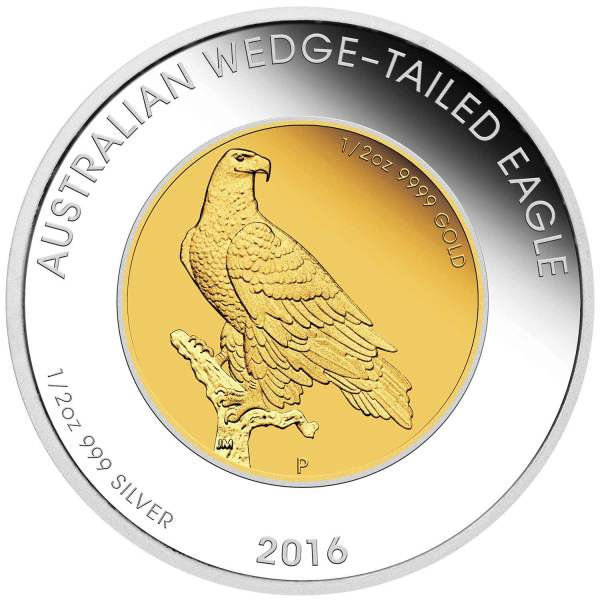 2016 Wedge-tailed Eagle Bi-Metallic