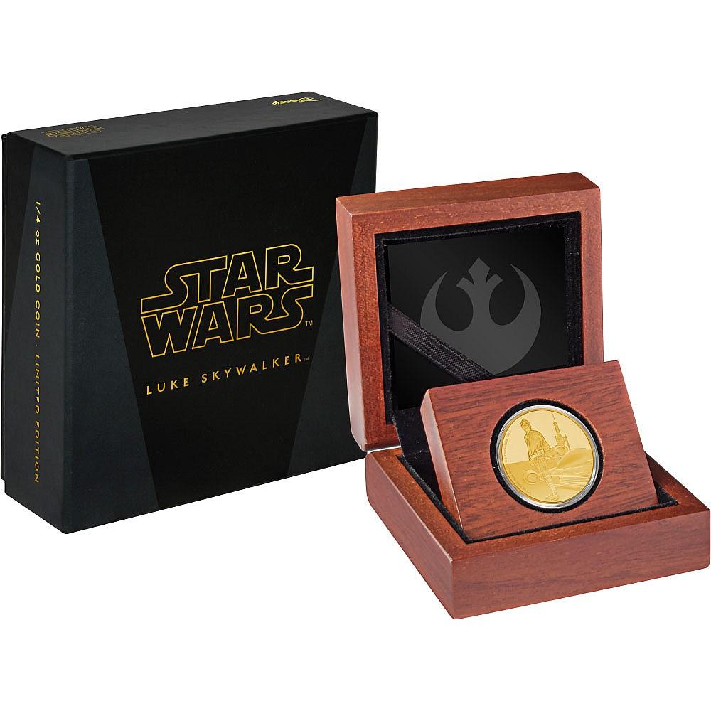 Princess Leia Organa 1oz SILVER COIN 2016 STAR WARS CLASSICS