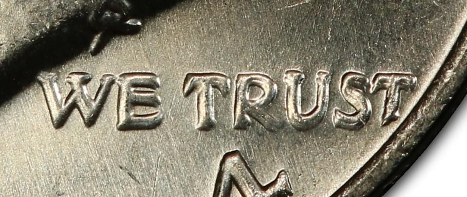 """Doubling in the 1974 D DDO(FS-50-1974D-101) Letters in """"WE TRUST"""""""