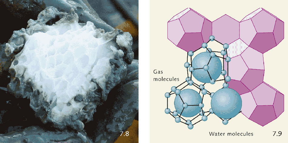 Image result for methane hydrate
