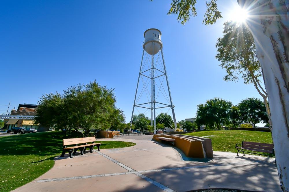 Water Tower Plaza in Gilbert, AZ