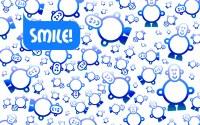 SMILE Smileyman Pattern Wallpaper Designs | The World of ...