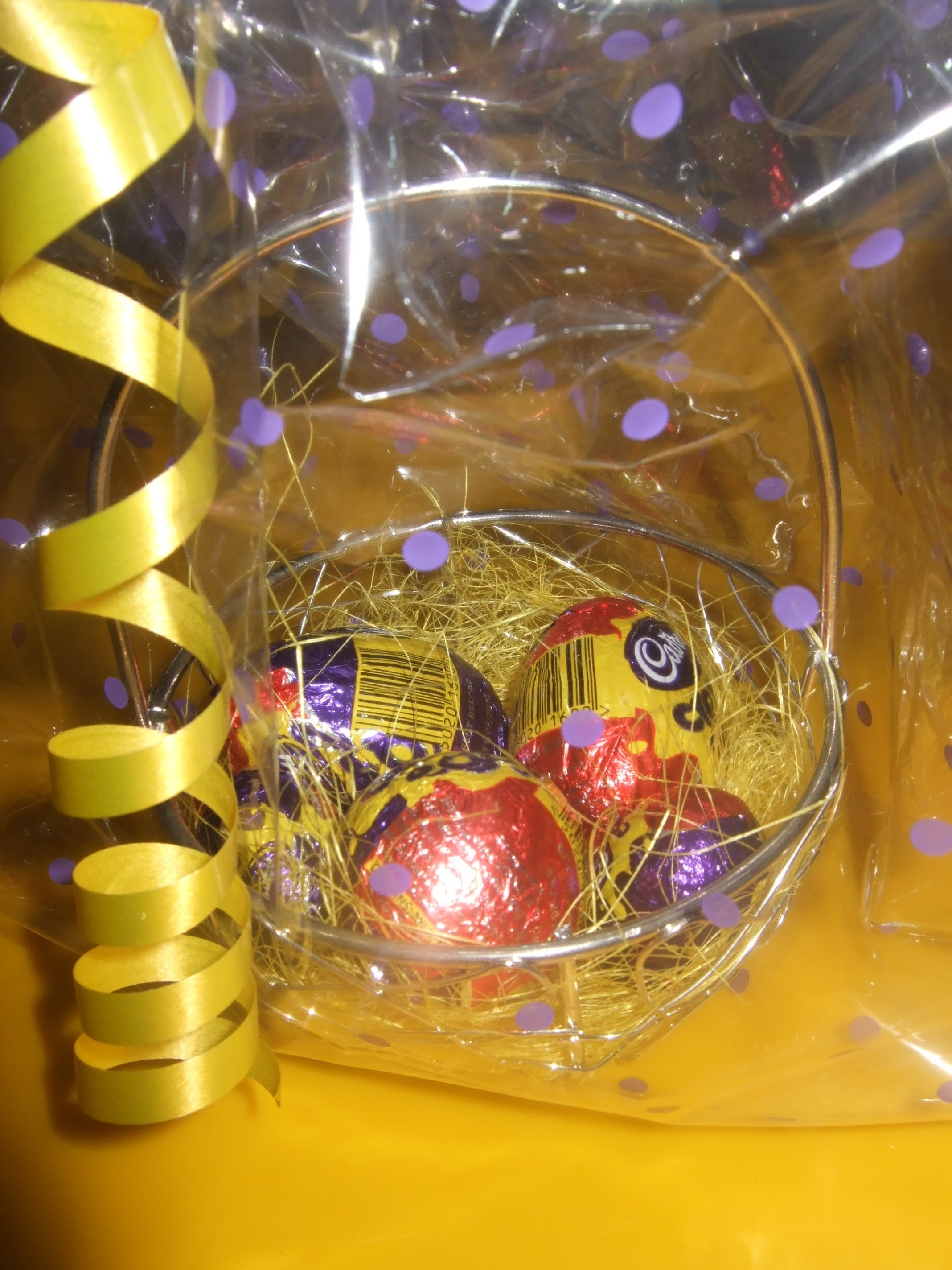 Easter Chocolate Baskets And Favors Birthdays Amp Parties