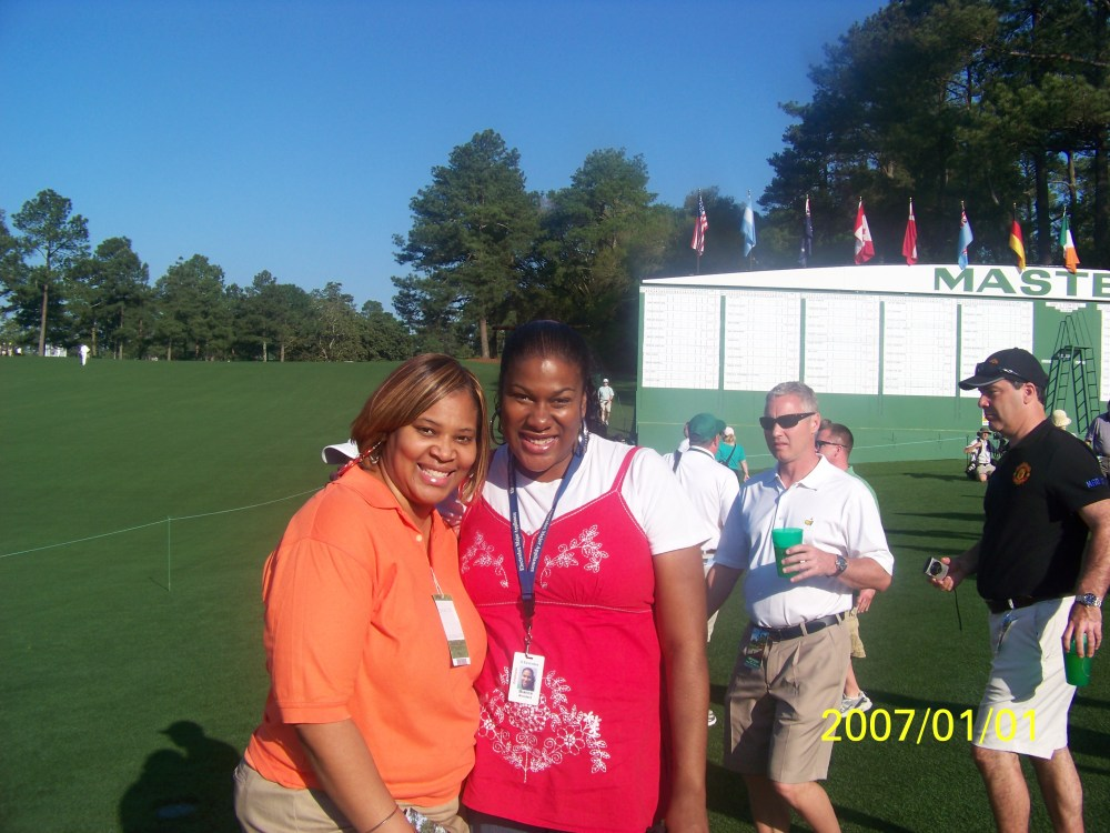 My day at the Masters 2012.. I saw Tiger Woods!!!  (3/6)