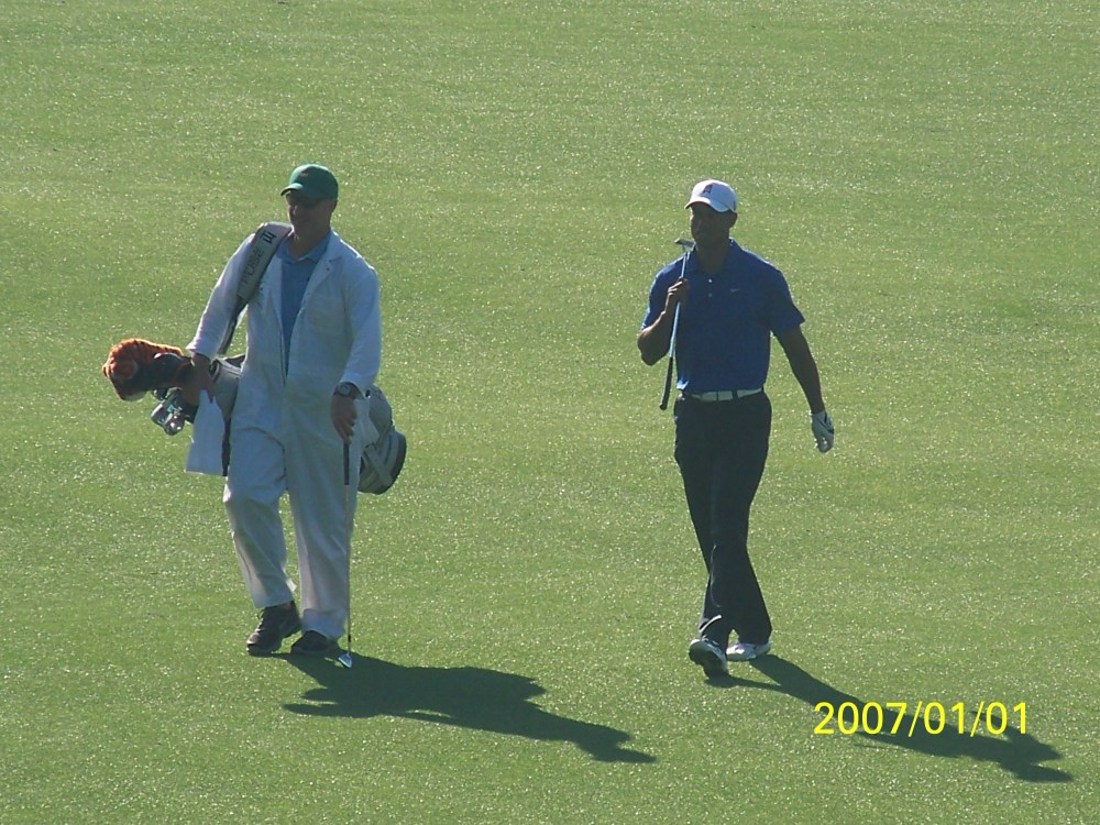 My day at the Masters 2012.. I saw Tiger Woods!!!  (5/6)