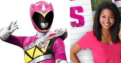 Shelby- Pink Dino Charge Ranger