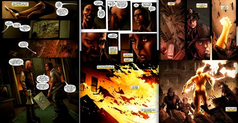 The Origin of Power Man from Shadowland-Power man #1 and #2 by