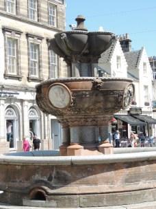 The Fountain on Market Street by Stephanie Woods