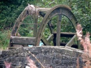 Old water-wheel, Bridgefoot