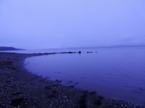 The Tay after sunset