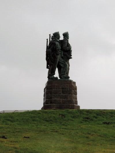 The commando monument, Spean Bridge