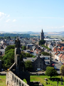 St Andrews from St Rule's Tower