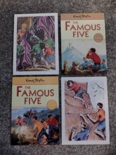 famous five postcards