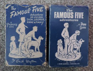 famous five pepys card game