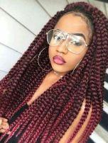jumbo red braids1