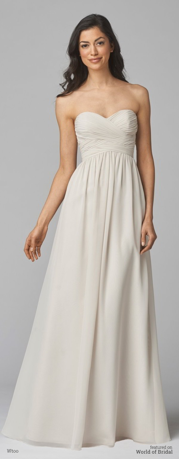 Wtoo Fall 2015 Bridesmaids Dresses