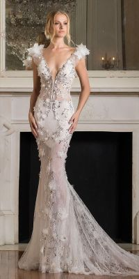 Pnina Tornai Silver Wedding Dress - Gown And Dress Gallery