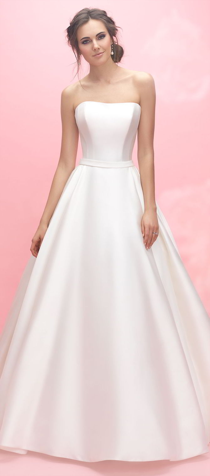 Grecian Wedding Gown With Sleeves