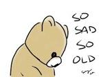 old and sad