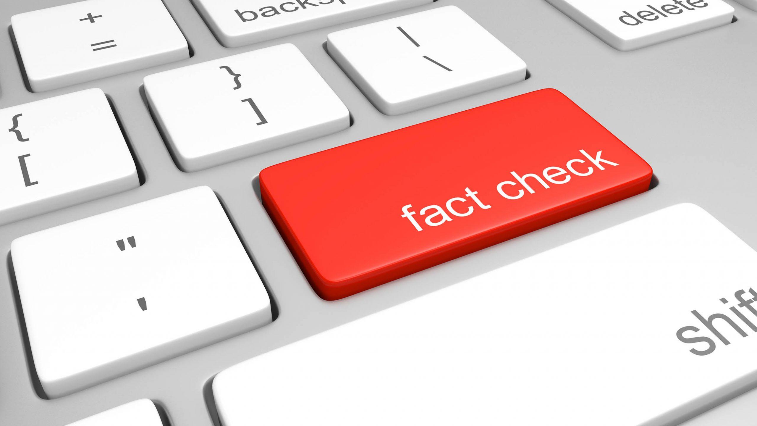 Fact-checking social media