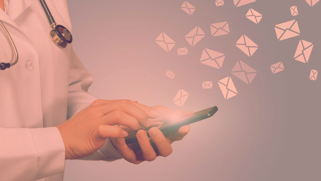 Communicating with HCPs via email